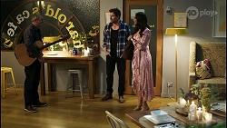 Karl Kennedy, Shane Rebecchi, Dipi Rebecchi in Neighbours Episode 8434