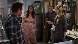 Shane Rebecchi, Dipi Rebecchi, Toadie Rebecchi, Mackenzie Hargreaves in Neighbours Episode 8435