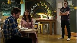 Shane Rebecchi, Dipi Rebecchi, Toadie Rebecchi in Neighbours Episode 8435