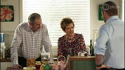 Karl Kennedy, Susan Kennedy, Toadie Rebecchi in Neighbours Episode 8436