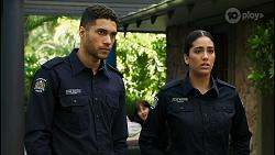 Levi Canning, Yashvi Rebecchi in Neighbours Episode 8436