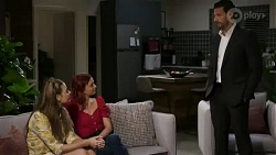 Chloe Brennan, Nicolette Stone, Pierce Greyson in Neighbours Episode 8437