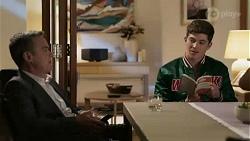 Paul Robinson, Hendrix Greyson in Neighbours Episode 8437