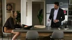 Chloe Brennan, Pierce Greyson in Neighbours Episode 8437
