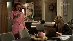 Nicolette Stone, Chloe Brennan in Neighbours Episode 8438