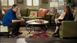 Des Clarke, Jane Harris in Neighbours Episode 8438
