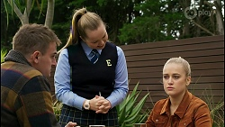 Kyle Canning, Harlow Robinson, Roxy Willis in Neighbours Episode 8439