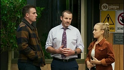 Kyle Canning, Toadie Rebecchi, Roxy Willis in Neighbours Episode 8439