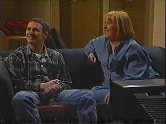 Stonie Rebecchi, Angie Rebecchi in Neighbours Episode 2471