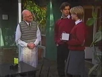 Colin Taylor, Malcolm Kennedy, Danni Stark in Neighbours Episode 2471