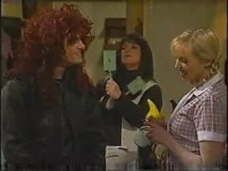 Stonie Rebecchi, Cheryl Stark, Annalise Hartman in Neighbours Episode 2471