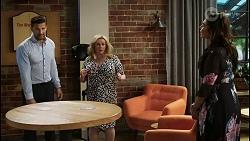 Pierce Greyson, Sheila Canning, Dipi Rebecchi in Neighbours Episode 8440