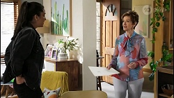 Yashvi Rebecchi, Susan Kennedy in Neighbours Episode 8441