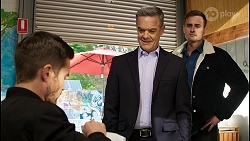 Ned Willis, Paul Robinson, Kyle Canning in Neighbours Episode 8441