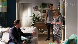 Dax Braddock, Levi Canning, Sheila Canning in Neighbours Episode 8441