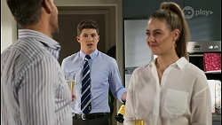 Pierce Greyson, Hendrix Greyson, Chloe Brennan in Neighbours Episode 8443