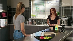 Chloe Brennan, Nicolette Stone in Neighbours Episode 8443
