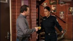 Dax Braddock, Yashvi Rebecchi in Neighbours Episode 8444
