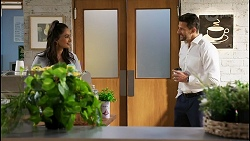 Dipi Rebecchi, Pierce Greyson in Neighbours Episode 8445