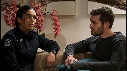 Yashvi Rebecchi, Ned Willis in Neighbours Episode 8446