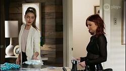 Chloe Brennan, Nicolette Stone in Neighbours Episode 8447