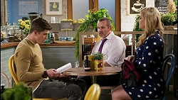 Hendrix Greyson, Toadie Rebecchi, Rose Walker in Neighbours Episode 8448