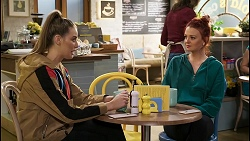 Chloe Brennan, Nicolette Stone in Neighbours Episode 8448