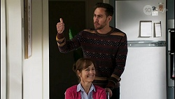 Fay Brennan, Aaron Brennan in Neighbours Episode 8449
