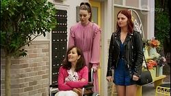 Fay Brennan, Chloe Brennan, Nicolette Stone in Neighbours Episode 8450