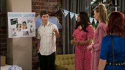 Hendrix Greyson, Dipi Rebecchi, Chloe Brennan, Nicolette Stone in Neighbours Episode 8450