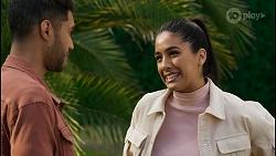 Levi Canning, Yashvi Rebecchi in Neighbours Episode 8451