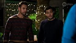 Aaron Brennan, David Tanaka, Kyle Canning in Neighbours Episode 8451