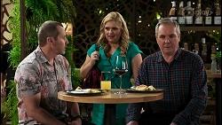 Toadie Rebecchi, Rose Walker, Karl Kennedy in Neighbours Episode 8453