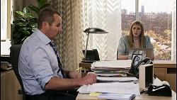 Toadie Rebecchi, Mackenzie Hargreaves in Neighbours Episode 8453