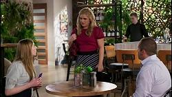 Mackenzie Hargreaves, Rose Walker, Toadie Rebecchi in Neighbours Episode 8453