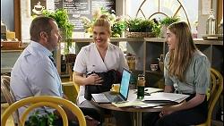 Toadie Rebecchi, Rose Walker, Mackenzie Hargreaves in Neighbours Episode 8454