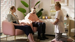 Mackenzie Hargreaves, Toadie Rebecchi, Rose Walker in Neighbours Episode 8454