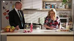 Clive Gibbons, Sheila Canning in Neighbours Episode 8454