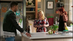 Levi Canning, Sheila Canning, Nicolette Stone in Neighbours Episode 8454