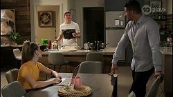 Chloe Brennan, Hendrix Greyson, Pierce Greyson in Neighbours Episode 8455