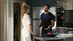 Chloe Brennan, Pierce Greyson in Neighbours Episode 8455