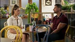 Chloe Brennan, Pierce Greyson in Neighbours Episode 8456