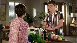 Susan Kennedy, Hendrix Greyson in Neighbours Episode 8456