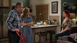 Karl Kennedy, Jane Harris, Nicolette Stone in Neighbours Episode 8456