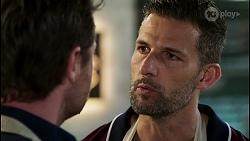 Shane Rebecchi, Pierce Greyson in Neighbours Episode 8456