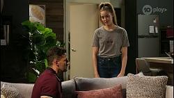 Pierce Greyson, Chloe Brennan in Neighbours Episode 8457