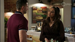Pierce Greyson, Dipi Rebecchi in Neighbours Episode 8457