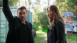Ned Willis, Scarlett Brady in Neighbours Episode 8457