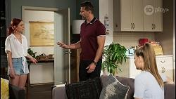 Nicolette Stone, Pierce Greyson, Chloe Brennan in Neighbours Episode 8457