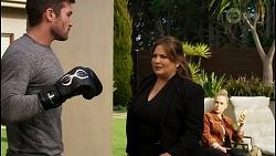 Ned Willis, Terese Willis, Roxy Willis in Neighbours Episode 8458